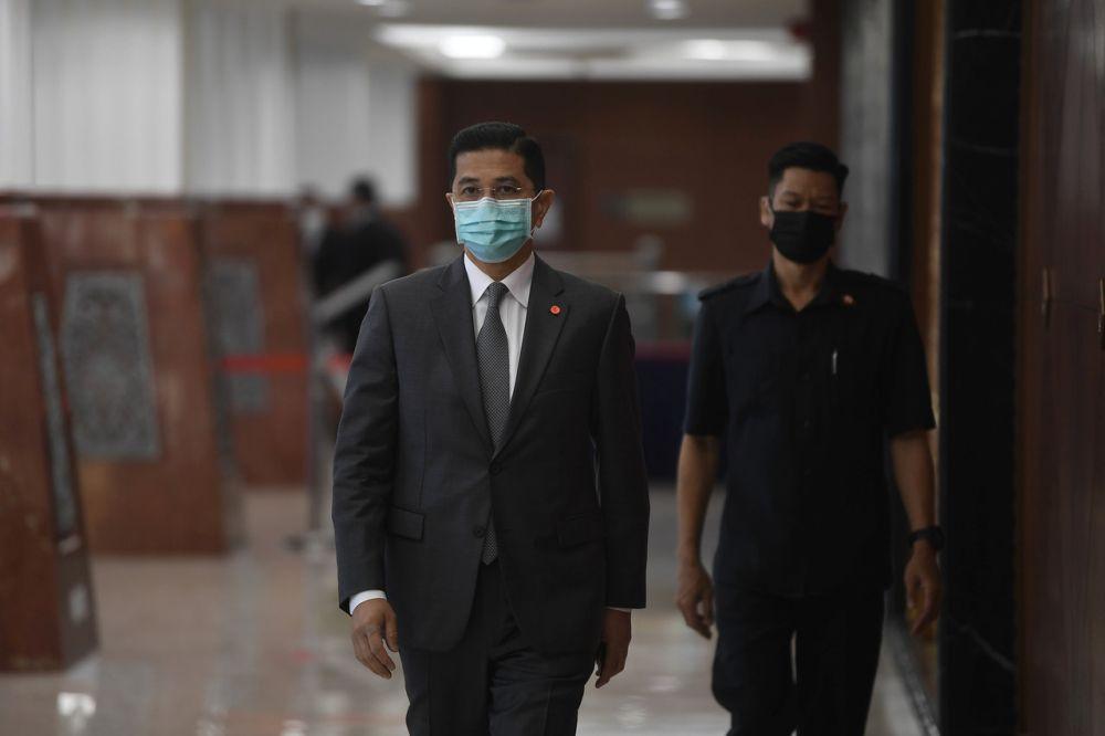 高级部长由 Miti 高级官员陪同出访,旨在展示马来西亚政府在可持续发展、高端制造和工业 4.0 等战略领域的商业友好政策和能力。  — 马新社图片