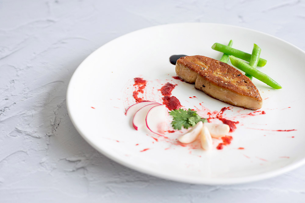 Where the final plating is concerned, be as creative as you like!