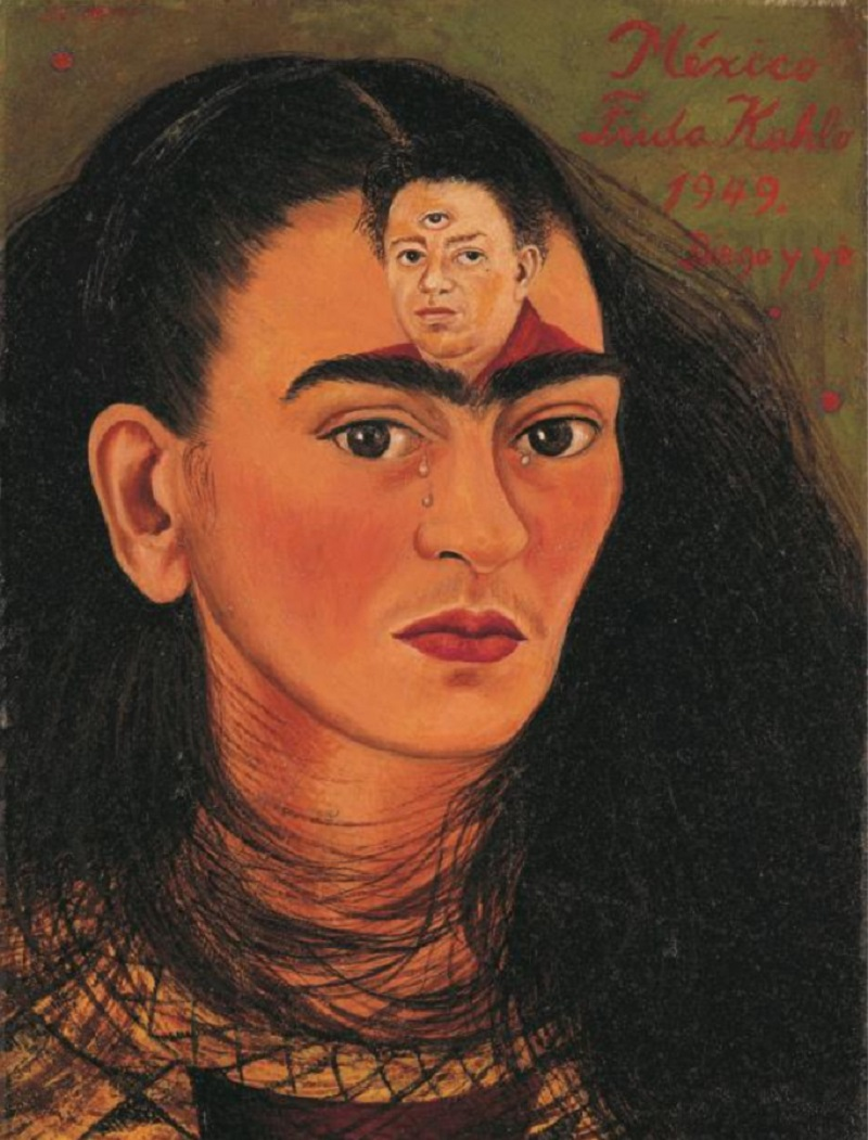 The last 'bust' self-portrait of Frida Kahlo will come to auction in mid-November at Sotheby's. ― Picture courtesy of Sotheby's