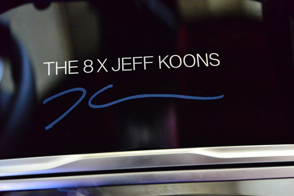 Jeff Koons is once again collaborating with BMW on a special edition of the 8 Series Gran Coupe to be unveiled in 2022. ― Picture courtesy of Jeff Koons/BMW