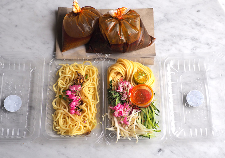 Your takeaways are all neatly packed and delivered to your doorstep