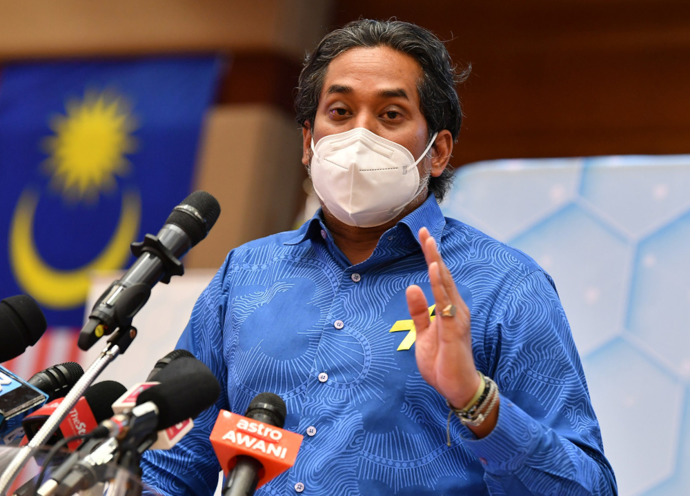 Health Minister Khairy Jamaluddin said in making mental health care more ubiquitous and accessible, new methods of delivering mental health services must be developed. — Bernama pic