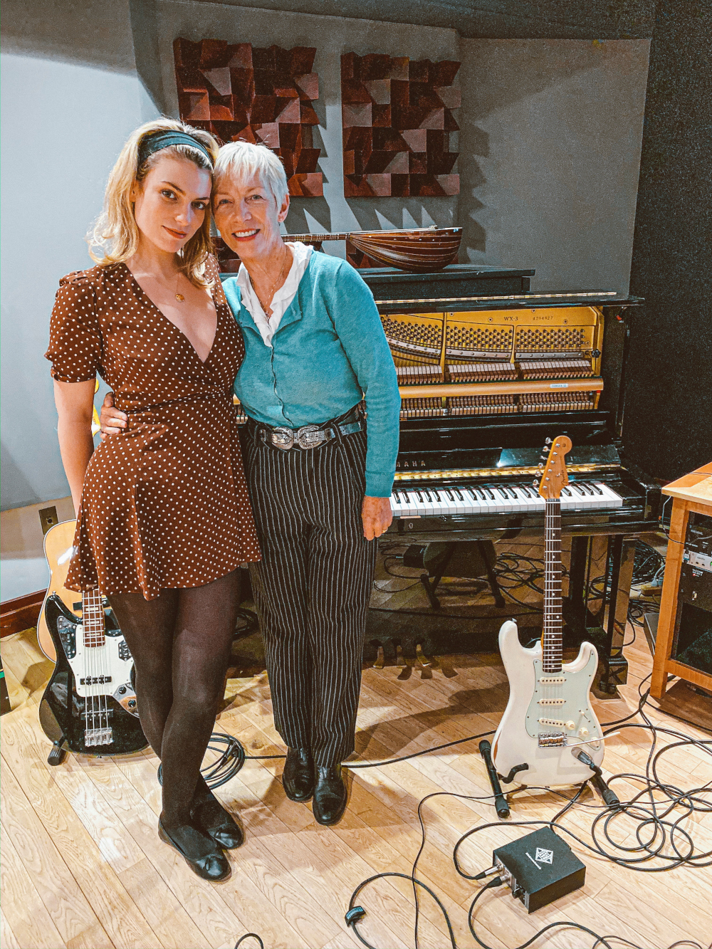 Lola Lennox and her mother Annie Lennox pose in Los Angeles, California, 2020. — Lola Lennox handout pic via Reuters