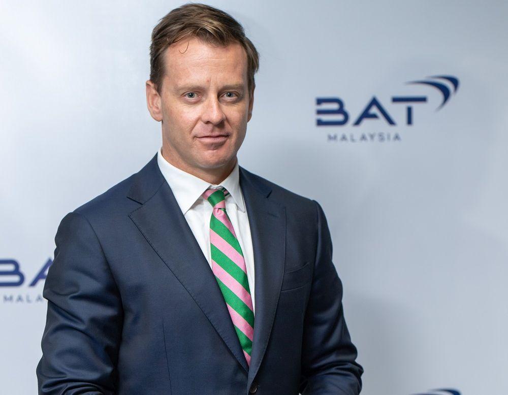 布斯表示,BAT Malaysia 的主要重点是减少其业务对健康的影响,并为其客户提供风险较低的产品。  — 图片由 BAT 马来西亚公司提供