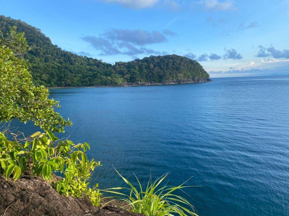 A general view of Pulau Tenggol September 23, 2021. — Picture via Facebook
