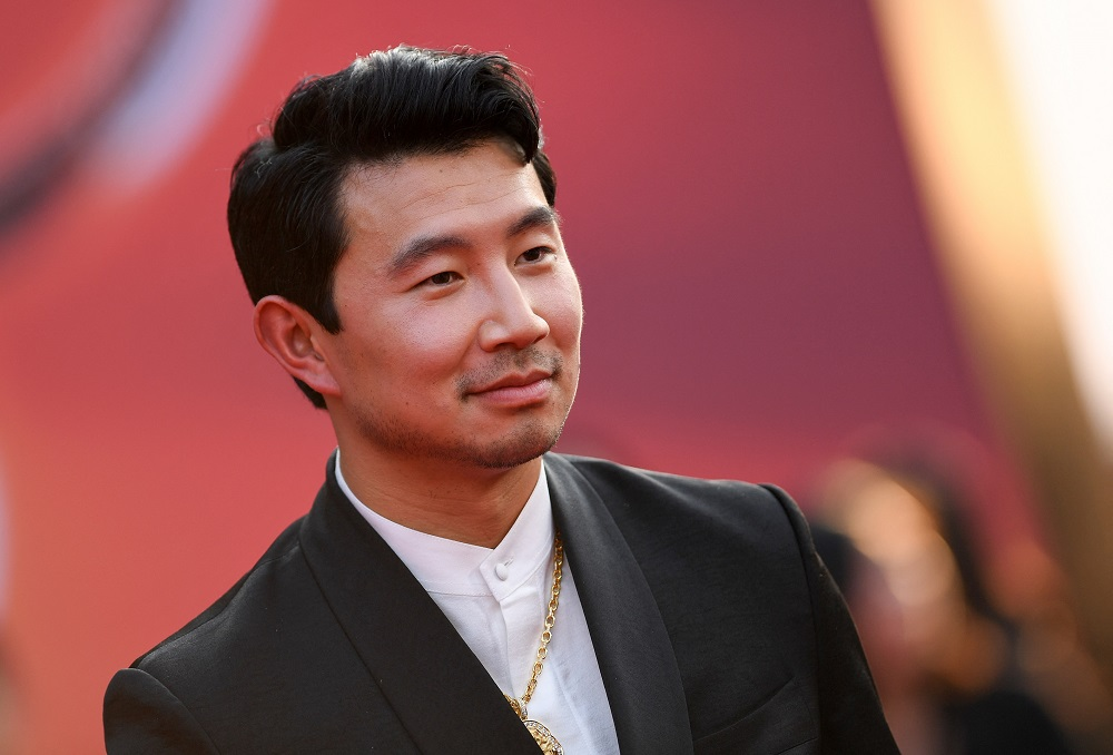 Canadian actor Simu Liu arrives for the world premiere of Marvel's 'Shang-Chi and the Legend of the Ten Rings' at the El Capitan theatre. ― AFP pic