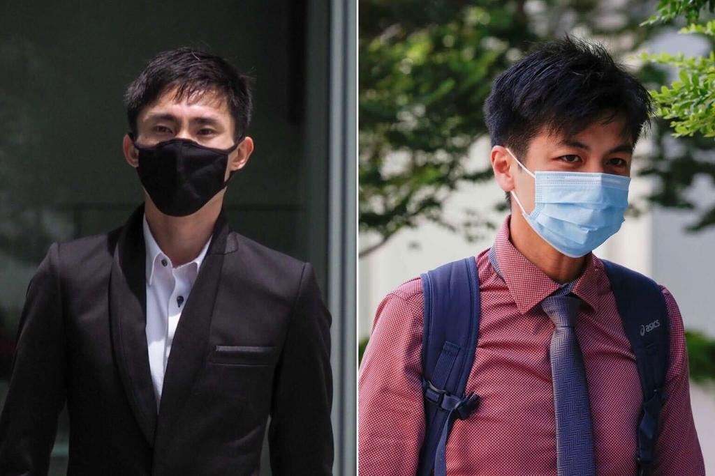 Soh Rui Yong (left) has to pay S$180,000 in damages to Dr Ashley Liew after losing a defamation suit. — TODAY pic