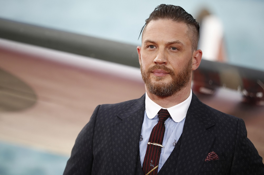 British actor Tom Hardy has been rumoured to be up for the part of James Bond. ― AFP pic