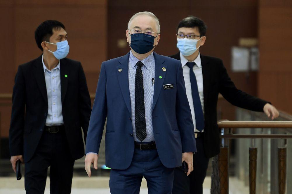 魏家祥指出,议长办公室已在10月13日证实收到公函。-马新社-