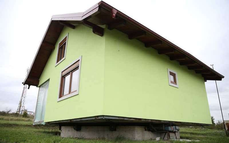 A Bosnian man built his wife a house that rotates so she could change the view out of her window whenever she wants. — Reuters pic