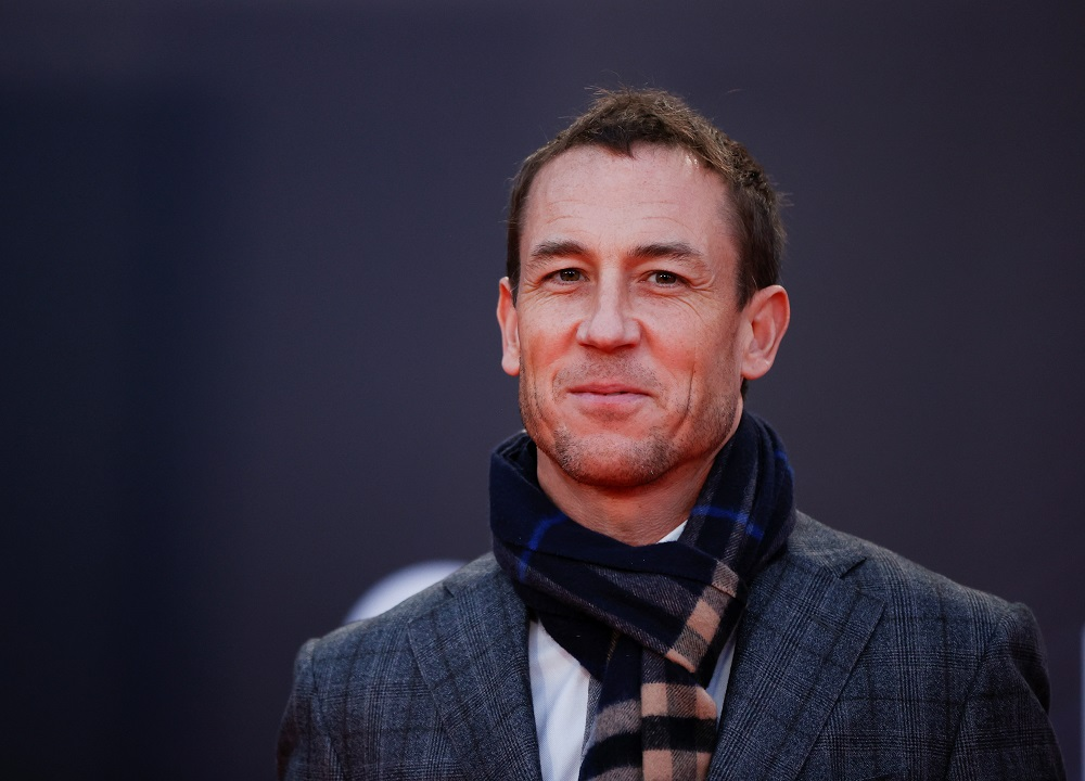 Actor Tobias Menzies arrives at a screening of the film 'Belfast' as part of the BFI London Film Festival in London October 12, 2021. — Reuters pic