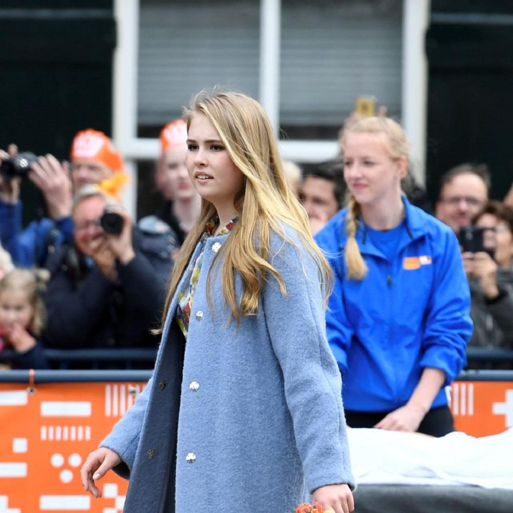 阿马利娅公主是荷兰国王威廉.亚历山大的长女,她12月便满18岁。-路透社-