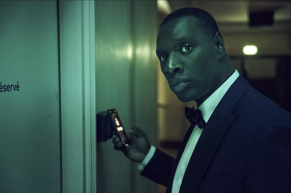 In 'Lupin', Omar Sy plays Assane Diop, a fan of the novels who uses the character of Lupin as he seeks vengeance for his wrongly-accused father. — Picture courtesy of Netflix