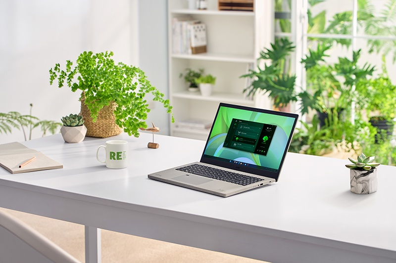 The new Acer Aspire Vero is built for easy repairability and greener materials. — Picture courtesy of Acer