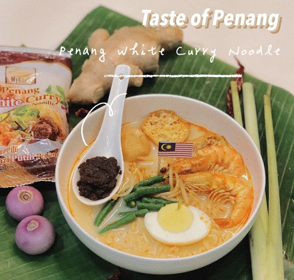 Penang White Curry instant noodles earned top spot in the Best Soupy Instant Noodles category. ― Picture via Instagram/mykuali