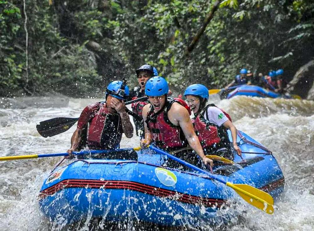 Radak Adventure in Gopeng provides various adventures and eco-tourism activities, such as whitewater rafting, waterfall abseiling, cave exploration and more. — Picture courtesy of Radak Adventure