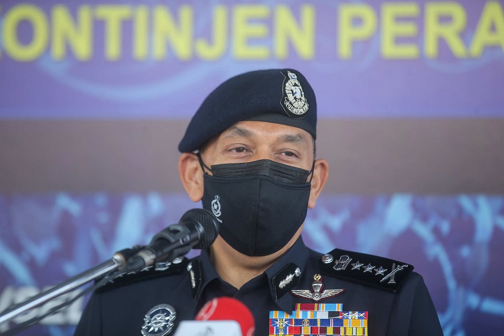 Perak police chief commissioner Datuk Mior Faridalathrash Wahid said that the soldier was arrested by police on October 13 in Perlis while an accomplice was also detained a day before in Taiping at 9pm. ― Picture by Farhan Najib