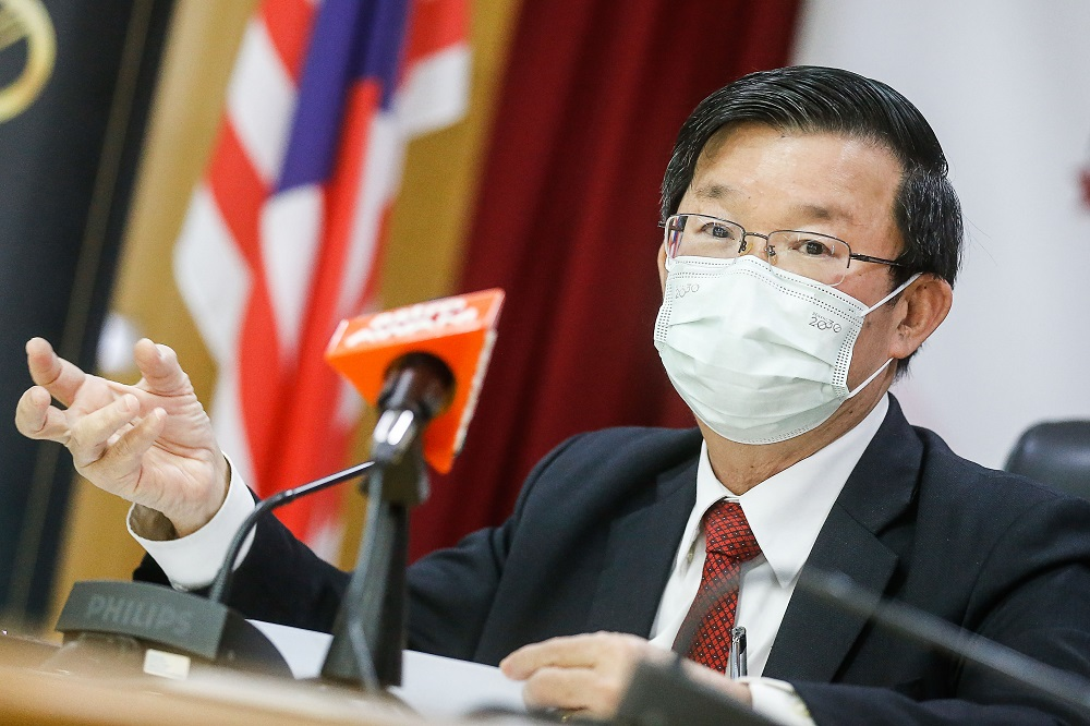 Penang Chief Minister Chow Kon Yeow said the state exco also discussed the vaccine donor controversy during its meeting and have decided to concentrate on the best approach in obtaining more vaccine supply as soon as possible. ― Picture by Sayuti Zainudin