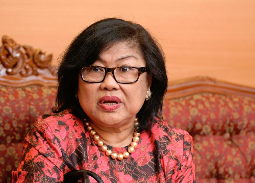 Tan Sri Rafidah Aziz was appointed chairman of Supermax, the world's second-largest glove manufacturer, in 2015. — Picture by K.E. Ooi