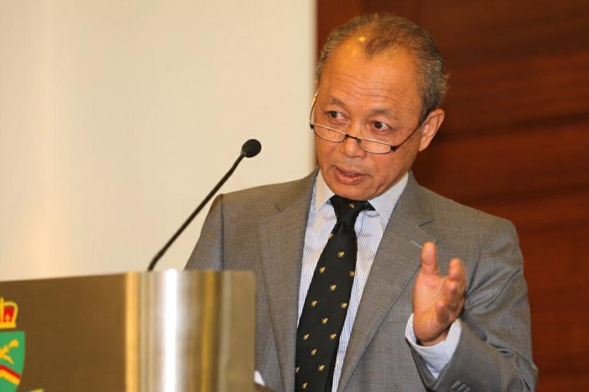 Last month, Chief Justice Tun Arifin Zakaria proposed that the Chief Registrar head the judicial and legal services commission, saying it was 'unwise' for the AG to be in charge of both. — Picture by Choo Choy May