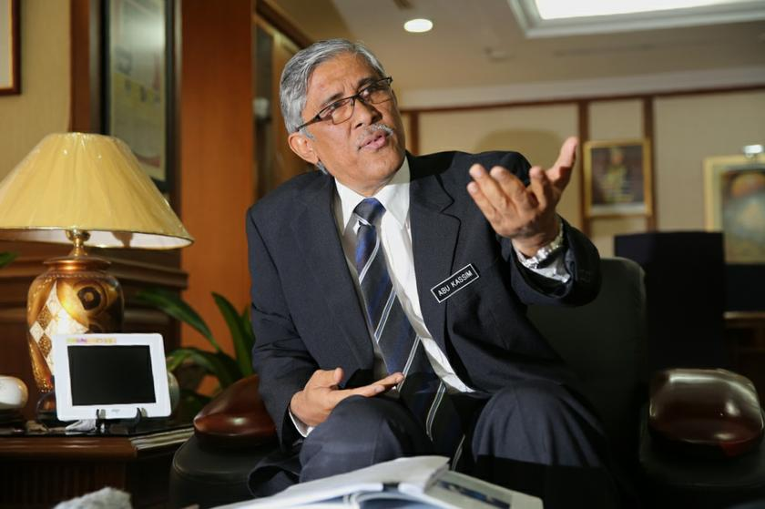 Tan Sri Abu Kassim Mohamed said NACP 2019-2023 developed by the GIACC needs to be continued because it is the hope, voice and will of the people. — Picture by Choo Choy May