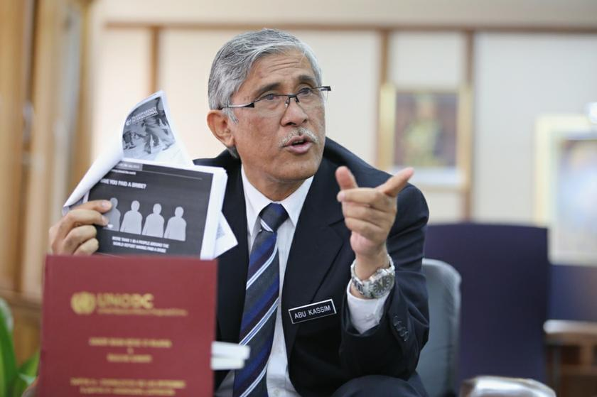 G25 called for outgoing MACC chief commissioner Tan Sri Abu Kassim Mohamed (pictured) to be replaced by someone picked by a Parliamentary Select Committee. — File pic