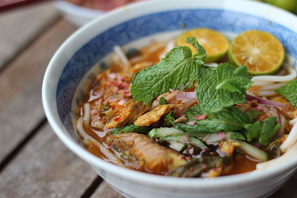 Auntie Ruby's assam laksa was often requested by many of her fans