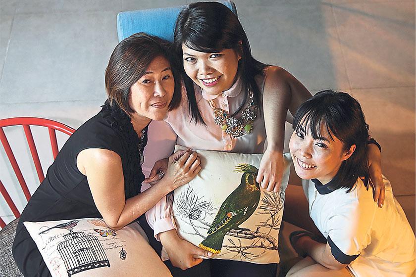 Sheena Ng, Karen Tan and Sima Manan are the People of Kheng Chew