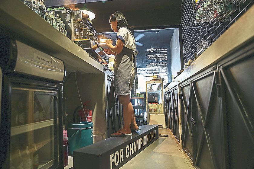 Head barista Sima Manan is a champion of coffee