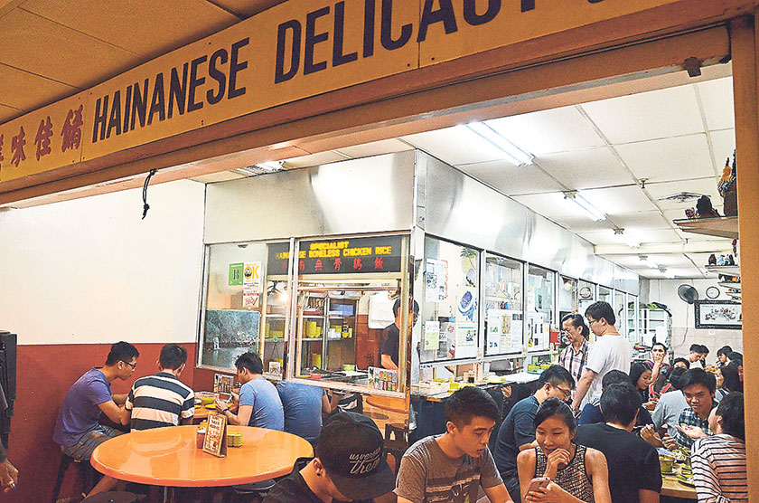 Hainanese Delicacy seems uninviting and slightly run down, hidden within Far East Plaza, but the Hainanese boneless chicken rice here deserves two thumbs up
