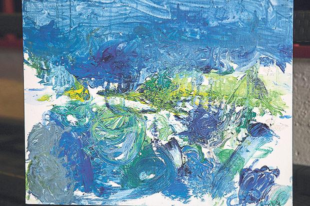 Branden Boy's vision of the ocean.