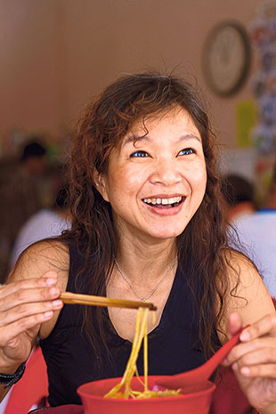 Thanks to her Malaccan Baba father, popular Peranakan cookbook author Debbie Teoh is the ultimate Malaccan food guide.