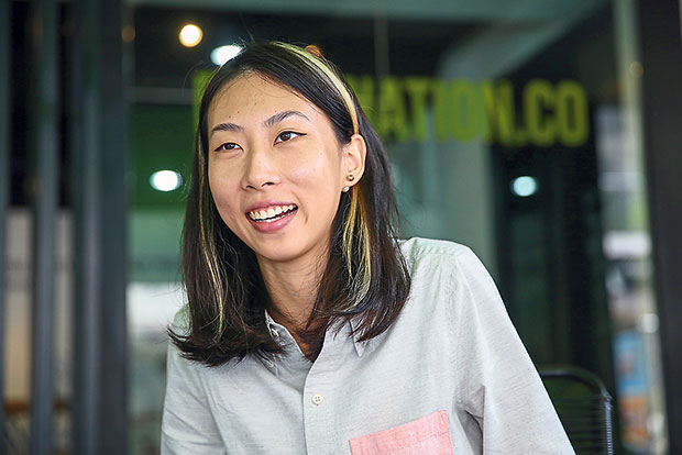 Michelle Alice Tan has an eye for good design.