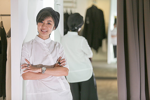 Rin Zheng started her own fashion line KOZO even though she does not have any formal training. — Pictures by Choo Choy May and courtesy of KOZO