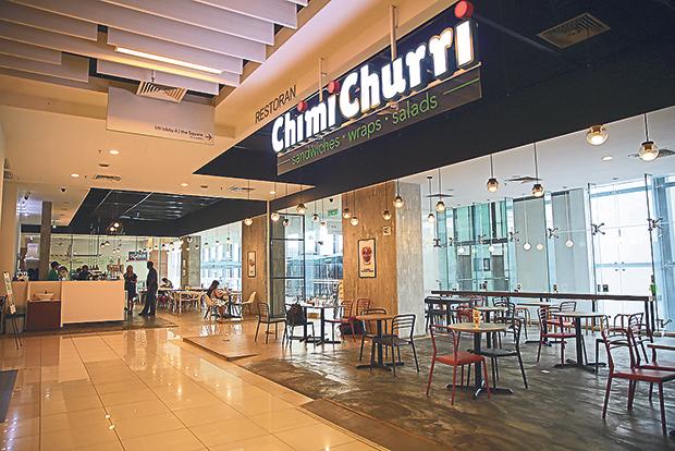 Find the minimalist styled ChimiChurri at The School, Jaya One