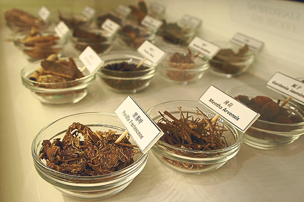 Some of the 23 traditional herbs used to concoct Ho Yan Hor Original Tea