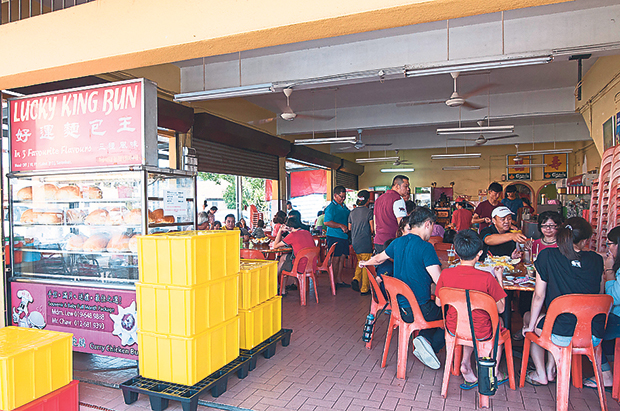 The famed Lucky King Bun in Port Dickson. – Pictures by K.E. Ooi