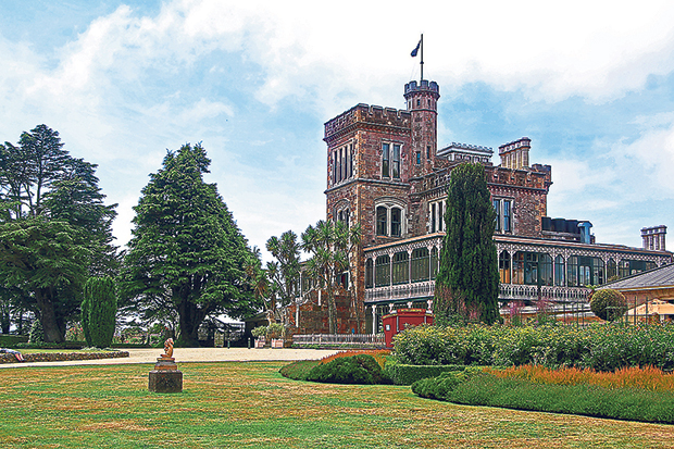 Larnach Castle is the only castle in the entire Australasia