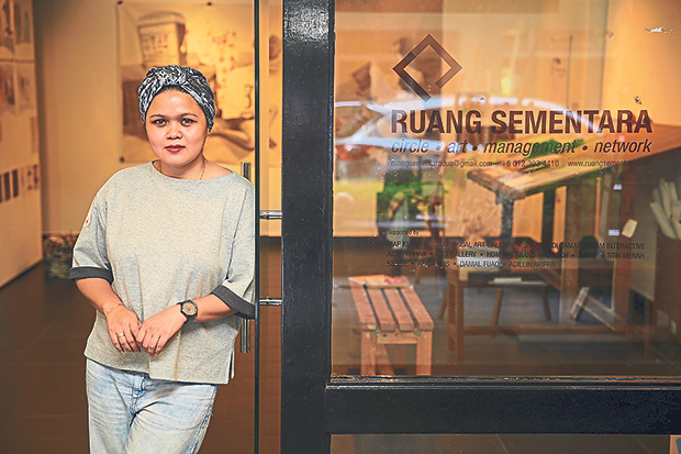 Mimie Baharuddin founded Ruang Sementara, an arts management company and event space