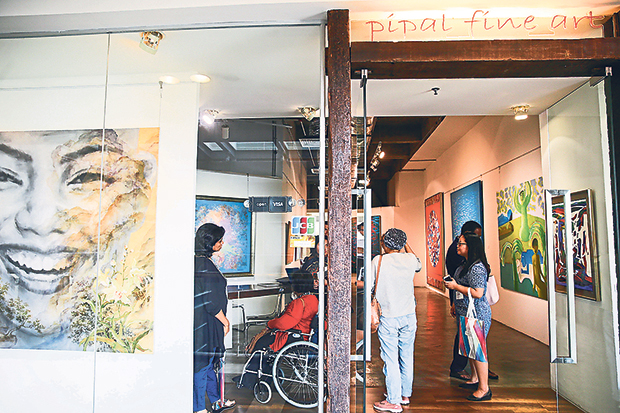 Pipal Fine Art focuses on the works of senior and established artists