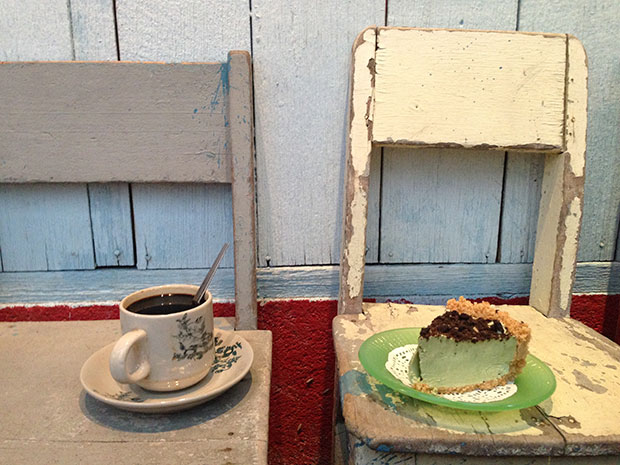 Coffee and cakes at Cafe 12.