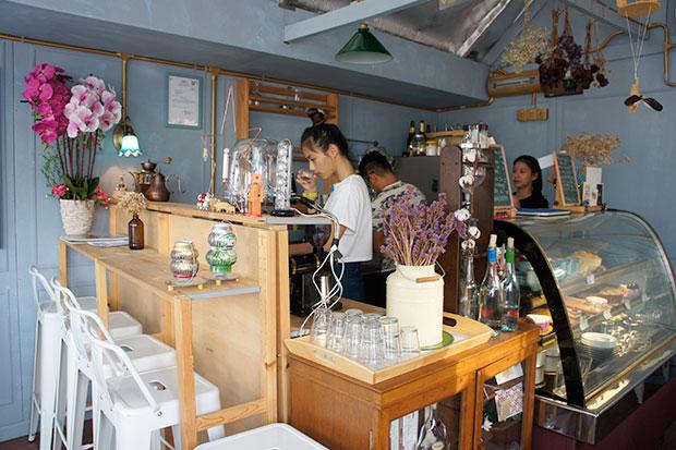 aboutBLUE opened last Christmas eve in Pasir Penambang, a fishing village in Kuala Selangor.