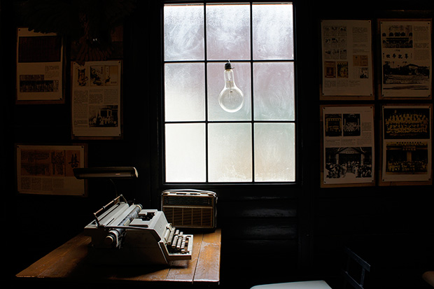This spot by the window is the most photographed corner of Mansion 1969.