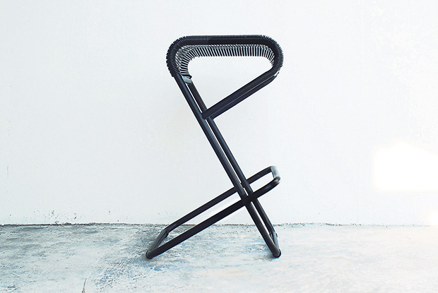 What letter does this stool looks like to you?