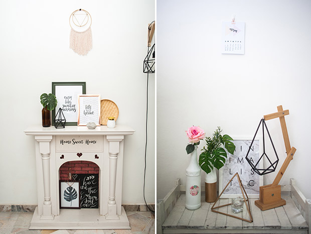 Make your house a home with krlbrands (left). Home and lifestyle items made by krlbrands (right).