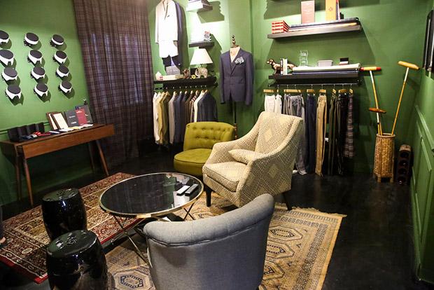 Bespoke tailor Atelier Fitton.