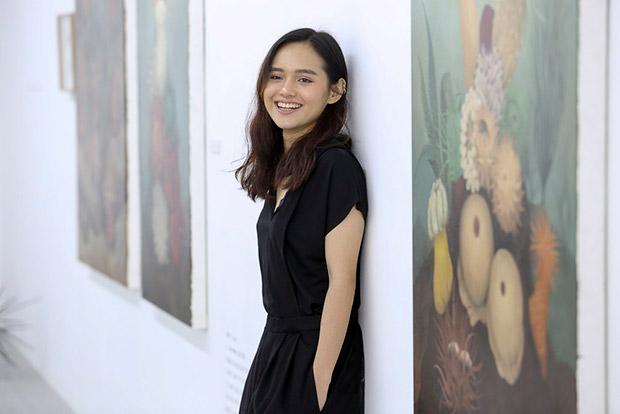 Up-and-coming Filipino artist Bree Jonson.
