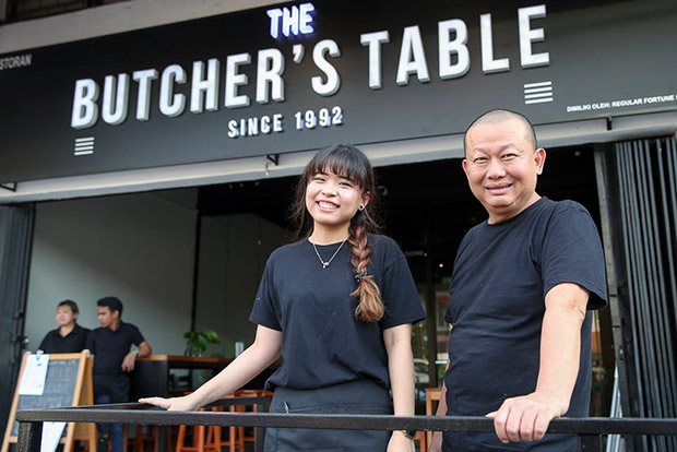 The Butcher's Table is headed by Ho Kim Loon and his daughter, Tiffany Ho. — Pictures by Choo Choy May