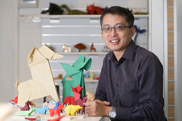 Malaysia Origami Academy's Kenneth Ch'ng started origami as a hobby until it turned into a profession. — Pictures by Choo Choy May