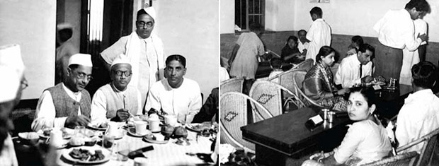 The Maiya family set up the Brahmin Coffee Club back in 1924 that served idlis and coffee (left). Later, the name was changed to Mavalli Tiffin Rooms (MTR) to reflect its locality (right).